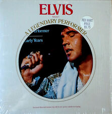 ELVIS PRESLEY - LEGENDARY PERFORMER - VOLUME 1 - LP + MEMORY LOG  - SHRINK WRAP