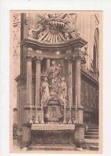Saint Hubert La Basilique Vintage Postcard Belgium 038a