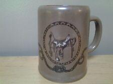 Pottery Horse's Saddle Mug,  BRAND NEW!!!