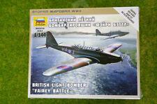 Zvezda ww2 Fata BATTAGLIA Britannico Bombardiere Leggero Scala 1/144 6218