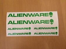 ALIENWARE Aufkleber Set Sticker PC Tuning Modding Mod Umbau TOP NEU WOW