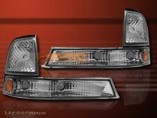1998-2000 FORD RANGER EURO CLEAR PARK CORNER SIGNAL LIGHTS LAMPS PAIR SET 1999