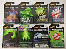 Hot Wheels Ghosbusters Series, Complete Set of 8, NEW!