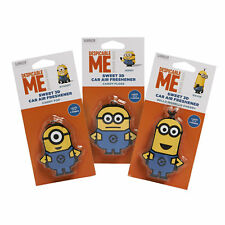 Despicable Me Minion 3D Car Air Freshener Jerry Stuart Kevin