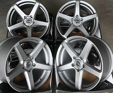 "18"" GM SPEC 2 ALLOY WHEELS FITS NISSAN SKYLINE GTST GTR GTT 200 300ZX 350Z S14"