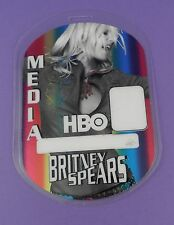 Britney Spears HBO Tour 2001/2  Backstage Media Pass - Unused Stock !