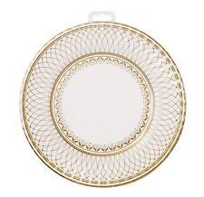 Party Porcelain Gold Large Paper Party Plates x 8