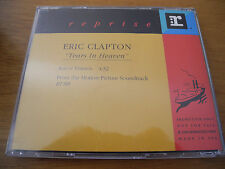 "ERIC CLAPTON - ""Tears In Heaven"" (""Rush""-OST) CD Single 1990 1st US PROMO ONLY"