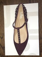Belle by Sigerson Morrison Valeda T-Strap Flat.  NIB.  8.5 Retail $325 SOLD OUT