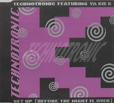 TECHNOTRONIC FT. YA KID D - Get up (before the night is over) - UK CD single