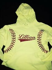 Softball Fastpitch Hoodie Personalize With Name