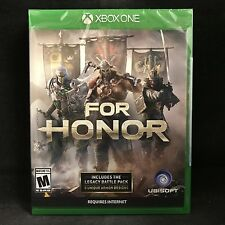 For Honor (Microsoft Xbox One, 2017) BRAND NEW / Region Free