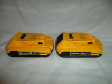 2 x DeWALT 20V Max XR Compact Lithium Ion Battery Packs DCB203 2.0 Amp  *NEW