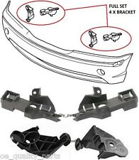 BMW E46 3 SERIES 01-05 RIGHT LEFT FRONT BUMPER COVER SUPPORT BRACKETS FULL SET