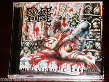 Severe Torture: Misanthropic Carnage CD 2006 Bonus Tracks Willowtip WT-97 NEW