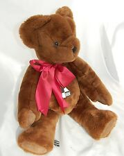 "Early Canterbury Bear Ultra Soft Plush Brown Teddy 21"" Design Centre England '84"