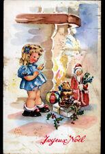 ENFANT & CADEAU OURS en PELUCHE / joyeux noel , par LUCE ANDRE
