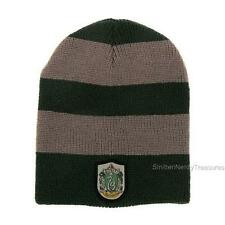 HARRY POTTER Licensed SLYTHERIN House Sigil Slouch BEANIE HAT Winter COSPLAY