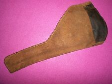 Old Suede Leather Hand Gun Holster 22 Right Hand