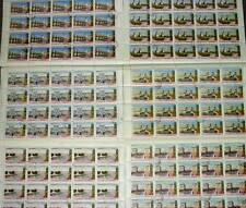 RUSSIA 1953 CANALS SET in FULL SHEETS FINE USED cv £270