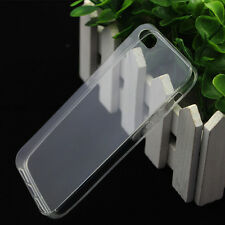 For Apple iPhone 4S 4 Soft Silicone TPU Ultra Thin Clear Transparent Cover Case