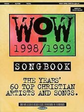 WOW 1998-1999 Songbook, 1. Book, , Good, 2000-10-01,