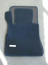 Original Lengenfelder Rips Fußmatten für Mercedes Benz W126 SEL S-Klasse + BLAU