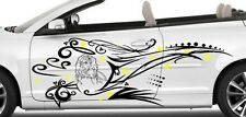 FAIRY/ELF W/TRIBAL DESIGN DECAL GRAPHIC VINYL FOR SIDE OF CAR