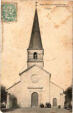 CPA Saint-Nicolas-de-Bourgueil (Indre-et-Loire) - L'Eglise (253619)