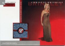 2005-06 TOPPS PRISTINE CHRISTIE BRINKLEY CELEBRITY WORN JEANS # 042/175