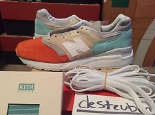 Ronnie Fieg New Balance 997.5 NB Mykonos Rust Sz 9 NEW 998 997 USA Kith Cyclades