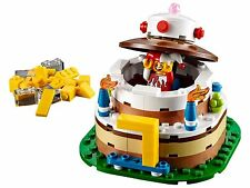 BRAND NEW LEGO BIRTHDAY CAKE TABLE DECORATION 40153 - BNIB & SEALED