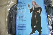 NEW - Hooded Monk Fancy Dress Costume - New in packet  size M/L - chest 42 - 45""