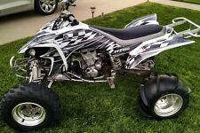 Yamaha YFZ 450 graphics 2003 - 2008 deco kit #2500 Metal Free Custom Service