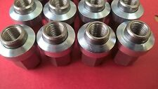 "Scimitar GTE Stainless Wolfrace wheelnuts 1/2"" UNF Sleeved set of 16 P3033/P3034"