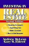 Investing in Real Estate by Gary W. Eldred and Andrew James McLean (1996,...