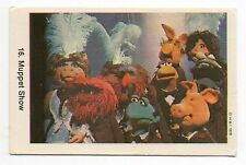 1970s Swedish Card #16 The Muppet Show Muppets Cast shot Miss Piggy Animal