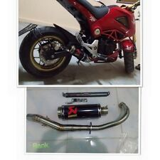 Honda MSX125 GROM STUN Exhaust Style Can Set full Stun for msx grom 125 Sale+++