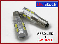 H6W 434 BAx9s CAN BUS NEW REVERS WHITE LED 8-SMD 5630 + CREE Q5 A
