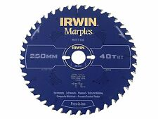 IRWIN IRW1897475 250 x 30mm 40-Teeth Irwin Marples Circular Saw Blade with ATB T