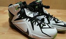 New Nike LeBron XII 12 Allstar Basketball Shoes Size 9.5 742549 190 White