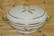 """Rosenthal Bountiful Wheat 1265 Round Covered Vegetable Serving Bowl, 8 3/8"""""""