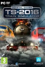 Train Simulator 2016 Brand New Fast Shipping from USA Railroad Sim