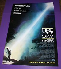 FIRE IN THE SKY MOVIE POSTER ORIG 1 SH