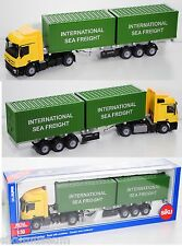 Siku Super 3921 Mercedes-Benz Actros LH 2048 LKW & Container INTERNATIONAL 1:50