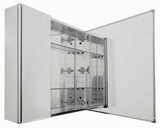 """Medicine Cabinet 30""""X26"""" Recessed/Surface Mount Beveled Mirror Door Bathroom New"""