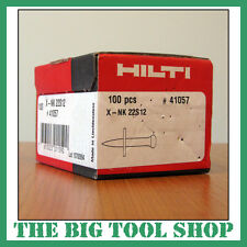 HILTI 22MM GENUINE NAILS FOR HILTI DX450 X-NK 22S12 41057