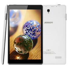 Latest Aoson 8'' M812 16GB Android 5.1 Quad Core IPS Bluetooth WiFi Tablet White