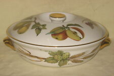 "UNUSED Royal Worcester Evesham Oven to Tableware 7.5"" Lidded Casserole Dish"