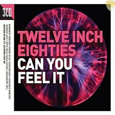 "TWELVE INCH EIGHTIES - CAN YOU FEEL IT 2016 3CD 30 x 12"" Mixes!"